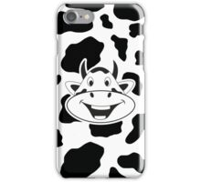 Crazy Laughing Cow iPhone Case/Skin