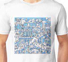 Blue Town Unisex T-Shirt