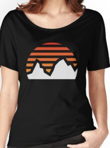 Mountain Sunset Women's Relaxed Fit T-Shirt