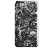 Magic Forest in Black and White iPhone Case/Skin