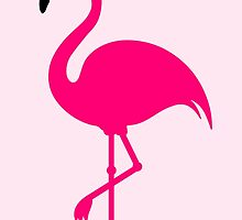 Funny Sweet Flamingo by badbugs