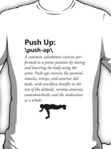 Press Up Definition T-Shirt