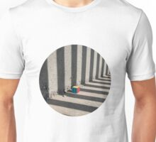 Rubik shading stripes Unisex T-Shirt