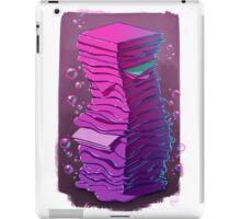 Book Stack iPad Case/Skin
