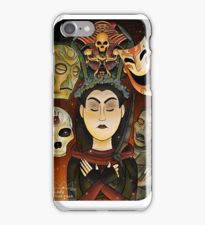Listener Tarot Card iPhone Case/Skin