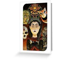 Listener Tarot Card Greeting Card