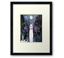 Alpha Wolf Framed Print