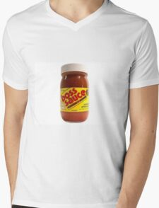 Boss Sauce Mens V-Neck T-Shirt
