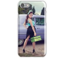 Miss Cadillac iPhone Case/Skin