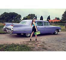 Miss Cadillac Photographic Print