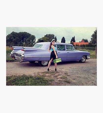 Miss Cadillac Photographic Print