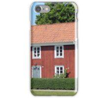 Red Swedish Home iPhone Case/Skin