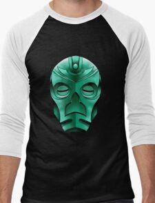 traditional dragon priest mask Men's Baseball ¾ T-Shirt