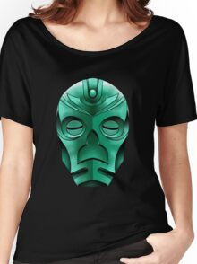 traditional dragon priest mask Women's Relaxed Fit T-Shirt