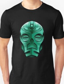 traditional dragon priest mask Unisex T-Shirt