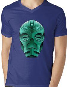 traditional dragon priest mask Mens V-Neck T-Shirt