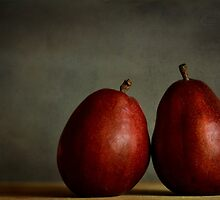 Red Pears by LawsonImages