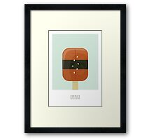 Unagi Flavored Creamsicle Framed Print