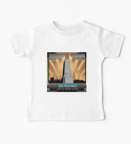 Art deco,NYC,deco building,vintage,retro,elegant,chic, Baby Tee