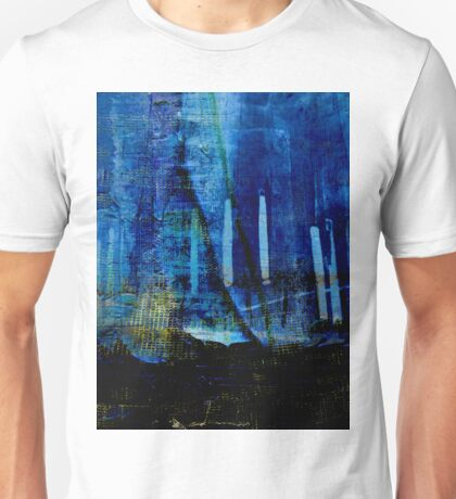 BLUE FENCE Unisex T-Shirt
