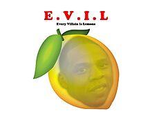 EVIL Lemonade Photographic Print