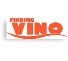 Finding Vino Canvas Print