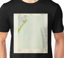 USGS TOPO Map New Jersey NJ Avalon 254095 1953 24000 Unisex T-Shirt