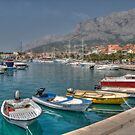 Boats in Makarska by Thea 65