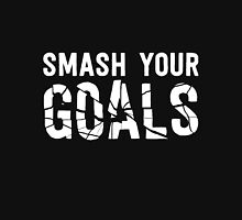 Smash Your Goals - White Unisex T-Shirt