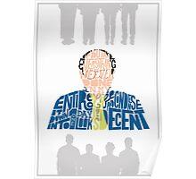 George Costanza - It Looks Decent Poster