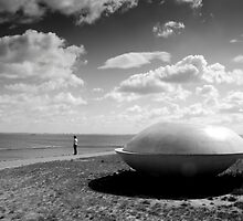 The girl and the UFO by M. van Oostrum