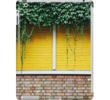 Yellow Window Roller Shutter iPad Case/Skin
