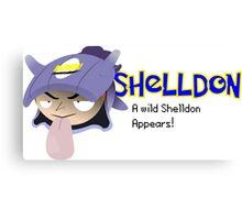 A wild Shelldon appears! Canvas Print
