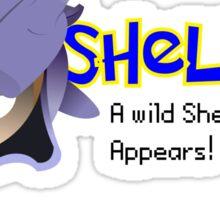 A wild Shelldon appears! Sticker