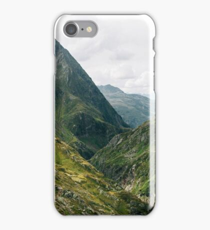 Alps of Switzerland XXL Panorama iPhone Case/Skin