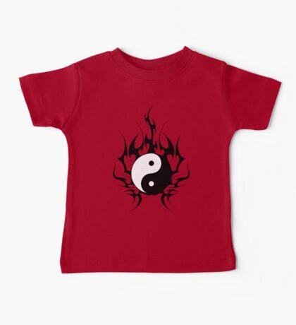 yin yang  Baby Tee