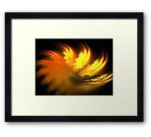 Vesuvius Plumes Framed Print