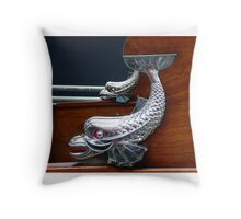 HMY Britannia's Launch  Throw Pillow