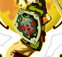 Triforce the mighty Link Sticker