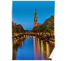 Amsterdam - Oil Paint Art Poster