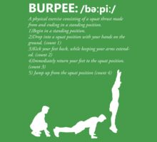 Burpee Defintion - White by nosnia