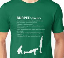 Burpee Defintion - White Unisex T-Shirt