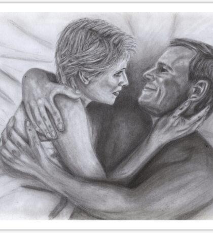 Sam and Jack (Cuddling) Sticker