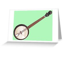 Jazzy ABC - The Banjo Greeting Card