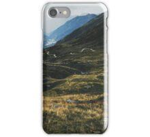 Road Winding Through Swiss Mountain Valley iPhone Case/Skin