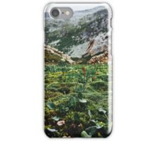 Swiss Alpine Moss Meadow iPhone Case/Skin
