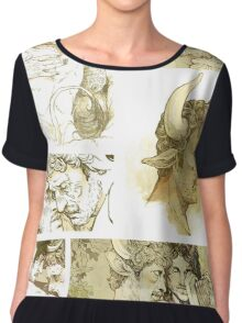 The Satyr and the Bull Chiffon Top