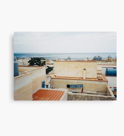 Sicily - Marettimo Shot on Film (Porta 400) Canvas Print
