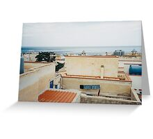 Sicily - Marettimo Shot on Film (Porta 400) Greeting Card