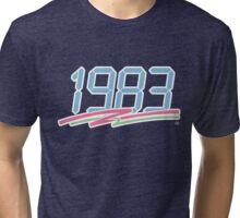 1983 - Stroked Tri-blend T-Shirt